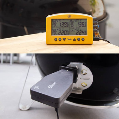 BBQ Controller ThermoWorks Signals & Billows Kleur: Charcoal/Zwart