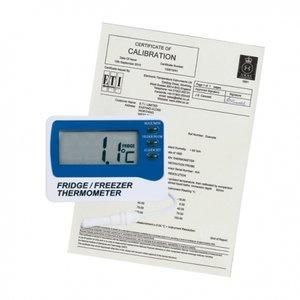 Koelkast thermometer met kalibratie certificaat